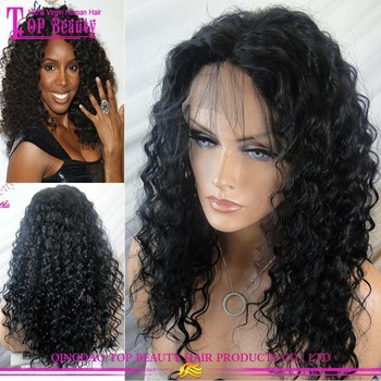 wholesale cheap human hair real hair wigs kinky curly full lace black women  wigs 3fc97b2e5