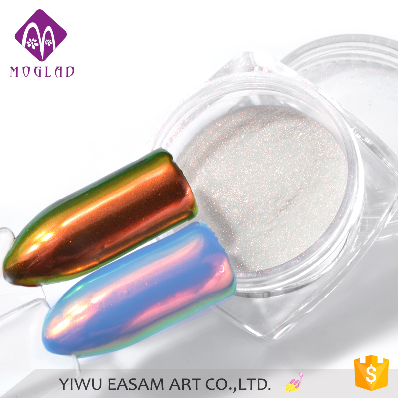 Hot-selling Aurora Nails Mirror Powder, Aurora Chrome Pigment