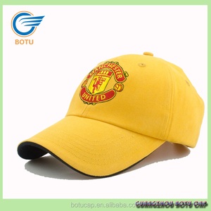 4804ab8c983 oem yellow sandwich design baseball men hat cotton head cap