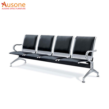 Stainless Steel Public Area Row Chair Waiting Seating