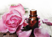 China Natural Pure Rose Otto Oil Bulgarian Rose Oil In 10 ml For Body Bath