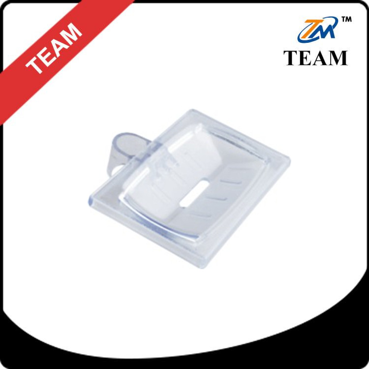 TM-6047 ABS PLASTIC clear Bathroom accessories transparent Soap dish