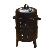 Portable charcoal outdoor garden bbq barbecue meat Smoker grill