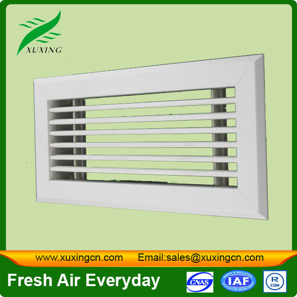Hvac decorative plastic wall vent linear grille