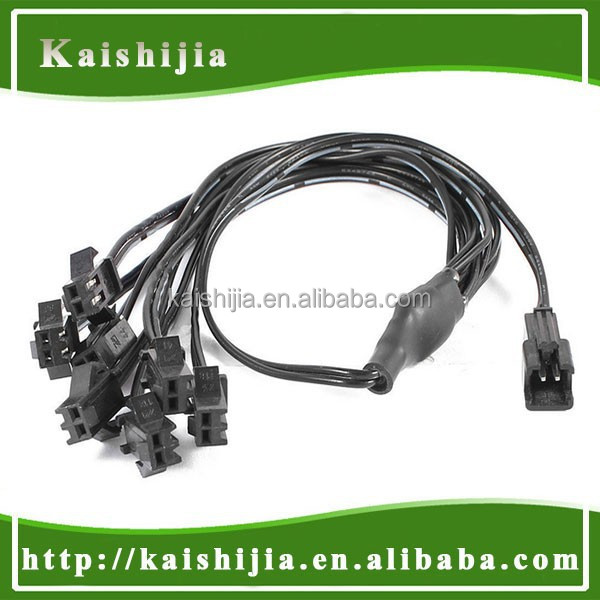 Custom Design Quality Standard 2 Pin Connector 7 Way El Wire ...