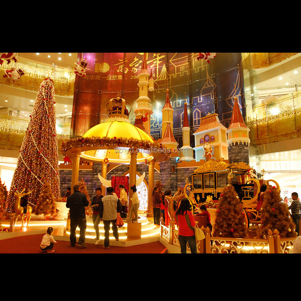 hot sale 2015 unique designed shopping mall lighted indoor