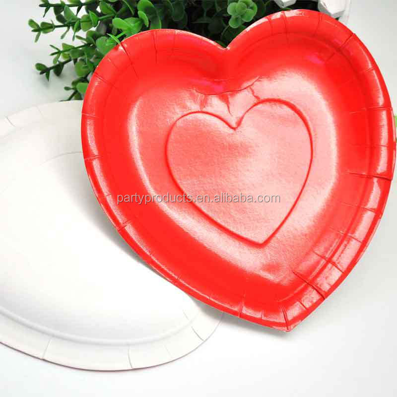 2018 New Heart Shaped Paper Plate Party Decoration & 2018 New Heart Shaped Paper Plate Party Decoration - Buy New 2018 Paper PlateParty PlateHeart Shape Paper Plate Product on Alibaba.com