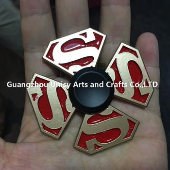 China Groothandel Captain Americas Schild Fidget Spinner Superman