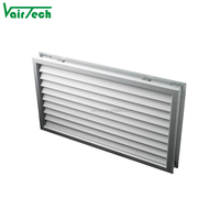 Ventilation adjustable air vent air grille bathroom door ventilation for interior doors