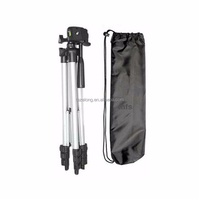 WEIFENG WT3110A Tripod with 3-Way Head Tripod for DSLR Camera Canon Nikon + Lens Cleaning Paper + Phone Clip + Camera Eyecup