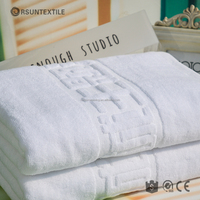 China manufacturer 100% cotton jacquard terry hotel hand towel