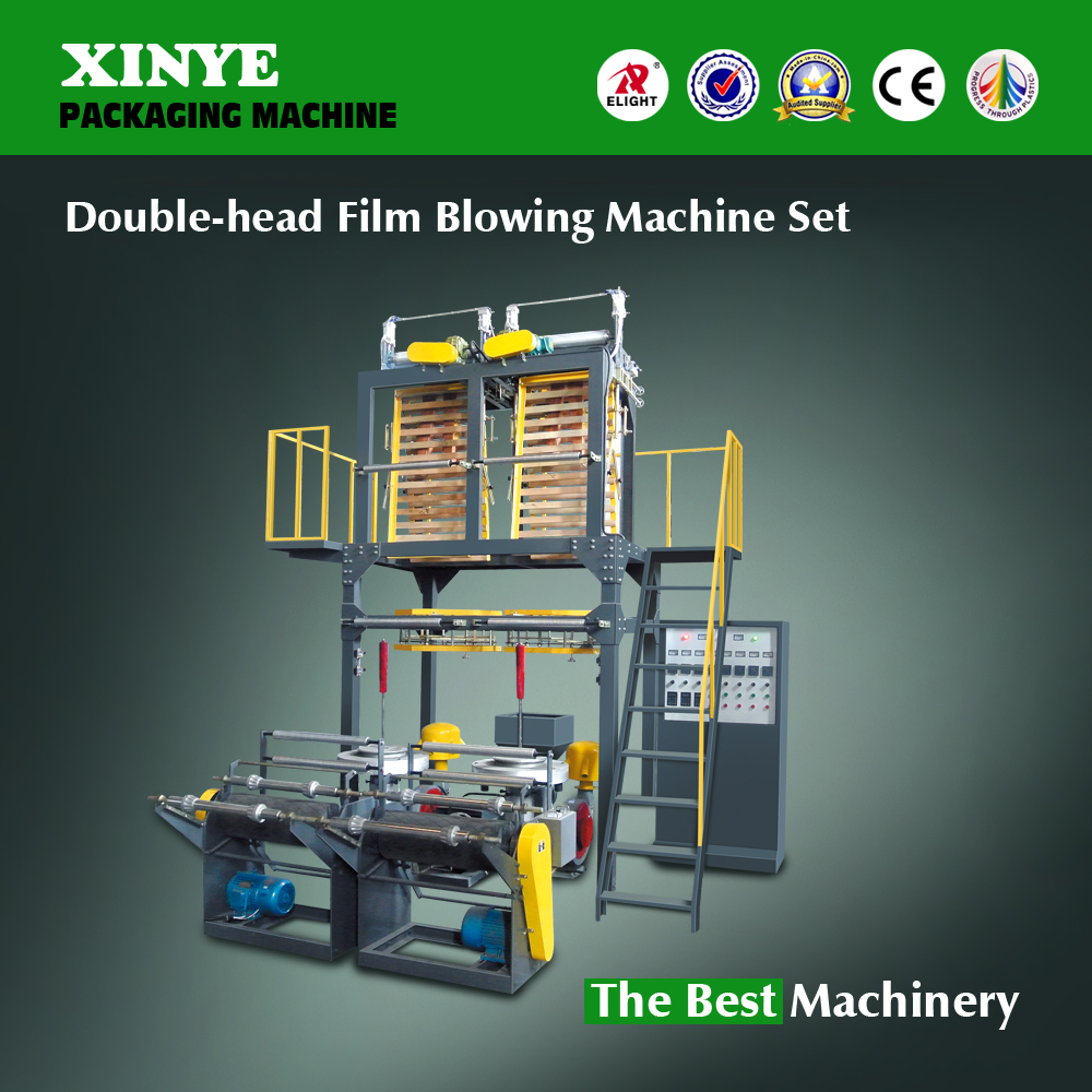 Machine for blowing low density polyethylene,high density polyethylene machines