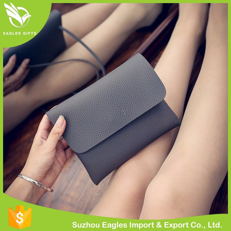 Holiday Gift Women Pu Leather Bags Leather Handbag China Supplier