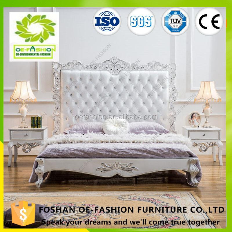 Venta al por mayor camas de madera blancas-Compre online los mejores ...