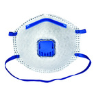 Molded Nonwoven CE FFP2 carbon with valve Disposable Dust Protective Mask Industrial Use