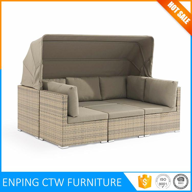 Garden Big Corner Sectional Sofa Lounge Rattan Outdoor Furniture