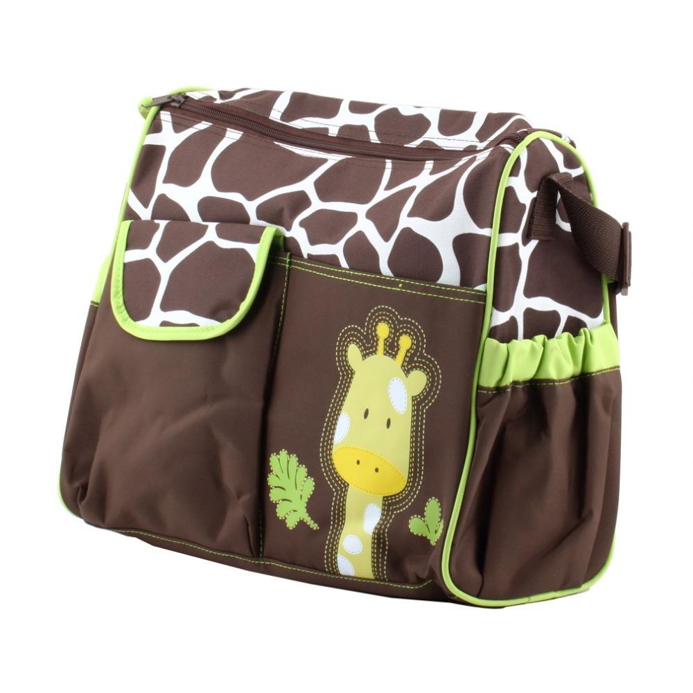 Carter Multi Function Baby Diaper Bag Ny Giraffe Print Lovely Durable