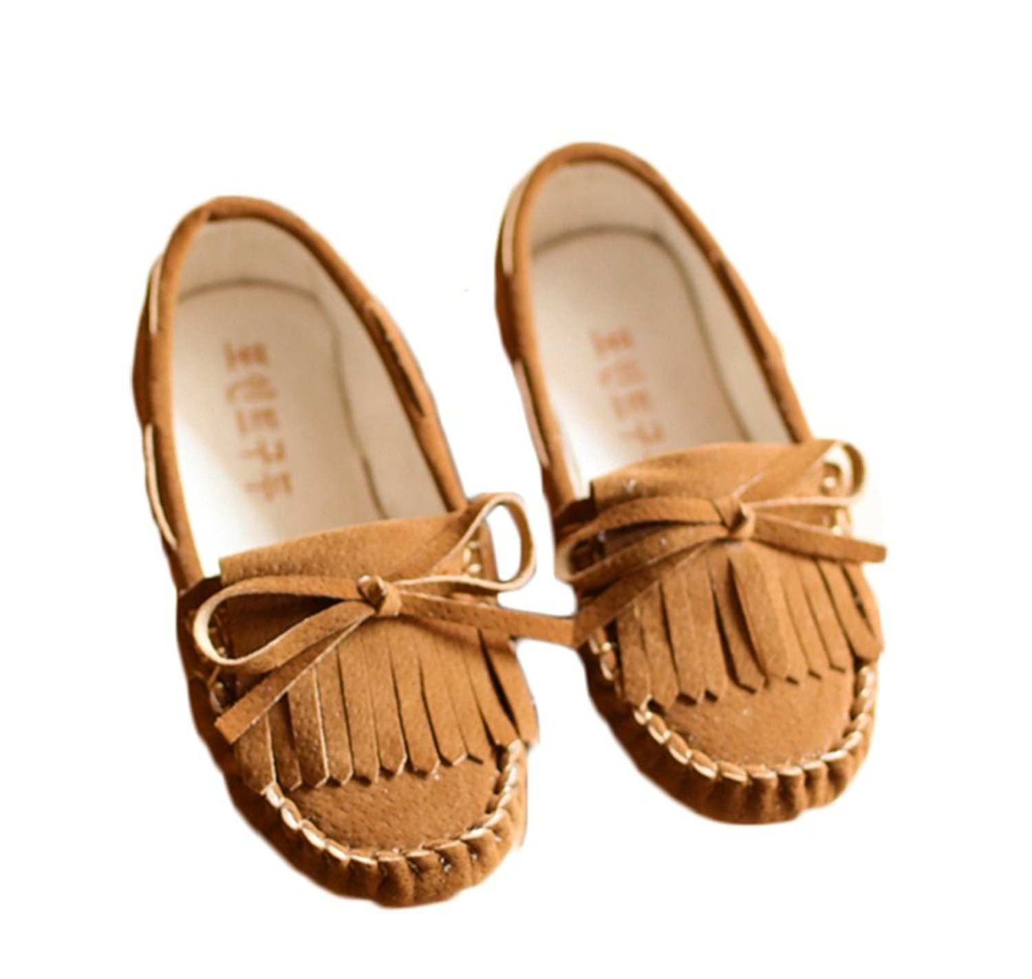 Bakerdani 2017 Style Fashion Autumn Girls Princess Casual Shoes with Tassels