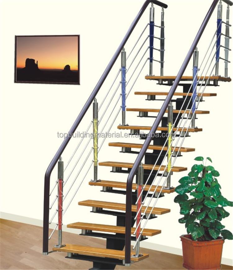 Modern Straight Single Stringer Steel Staircase Design   Buy Staircase  Design,Steel Staircase,Straight Staircase Design Product On Alibaba.com