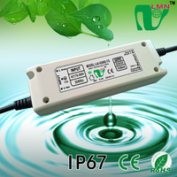 IP67 waterproof 62V40W LED dimmable driver