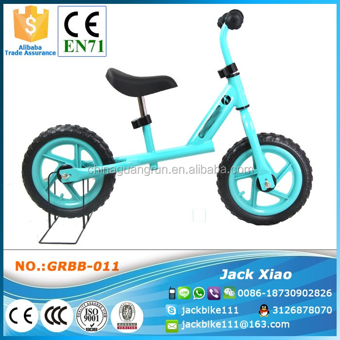 2016 Good Kids Balance Bike Pass EN71 Standard 12 inch Children Running Bicycle From China