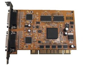 Hardware compression DVR card, 8 channel video/audio real time video capture card