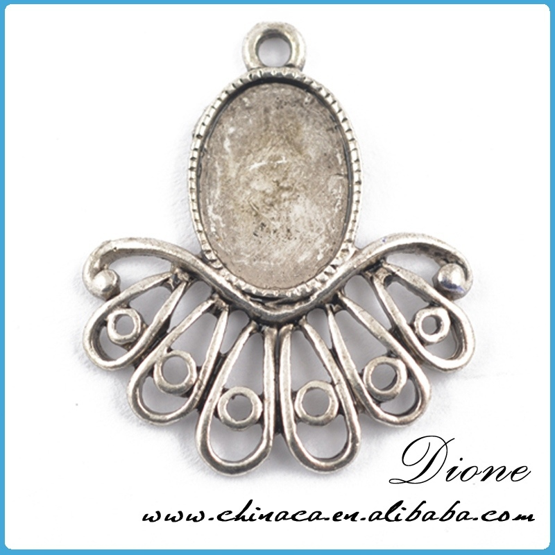 New arrival +fashion+high quality alloy cameo base 25mm