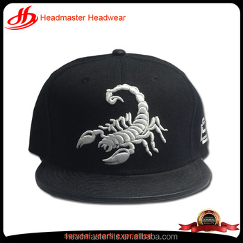 custom snapbacks 6 panel 3D embroidery caps cheap snakeskin brim snapback  hats and caps men 2bf2db279b9