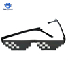 Men Polygonal Thug Life Shades Masculine Style Pixel Be Yourself hot 8 Bits Deal With It sunglasses man sunglasses 2018