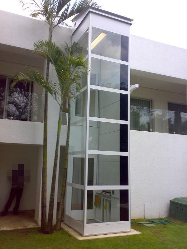 Otse barato al aire libre turismo hogar vidrio ascensor for Cheap home elevators