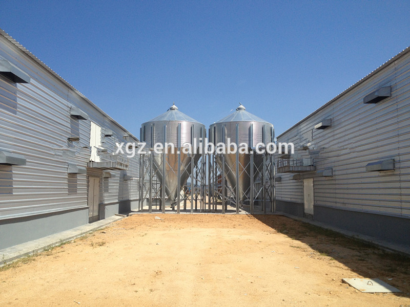 cheap Prefabricated Farm chicken house equipment