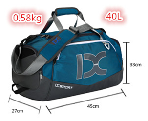 Sports Gym Bag with Shoes Compartment and  Wet Pocket, Travel Duffel Bag for Men and Women