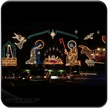 Outdoor motif rope light led christmas nativity scene buy outdoor motif rope light led christmas nativity scene mozeypictures Images