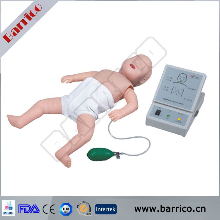 High quality infant educational CPR training manikin