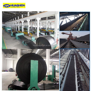 China Widely Used Professional Industrial Manufacturer Rubber Conveyer Belt