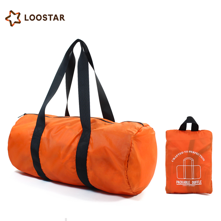 Waterproof Women Mens Travel Bag Large Weekend Duffel Bag Sport Tote Duffle Bag with Secret Compartment Wholesale