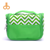Wholesale Chevron Cosmetic Bags Microfiber Material Toiletry Bag Chevron Makeup Bags Folding Travel Case DOM-108219