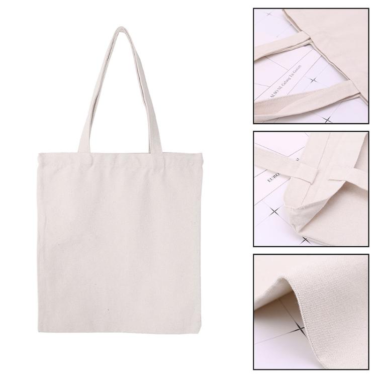 Full  print tote  Cotton canvas shopping bag