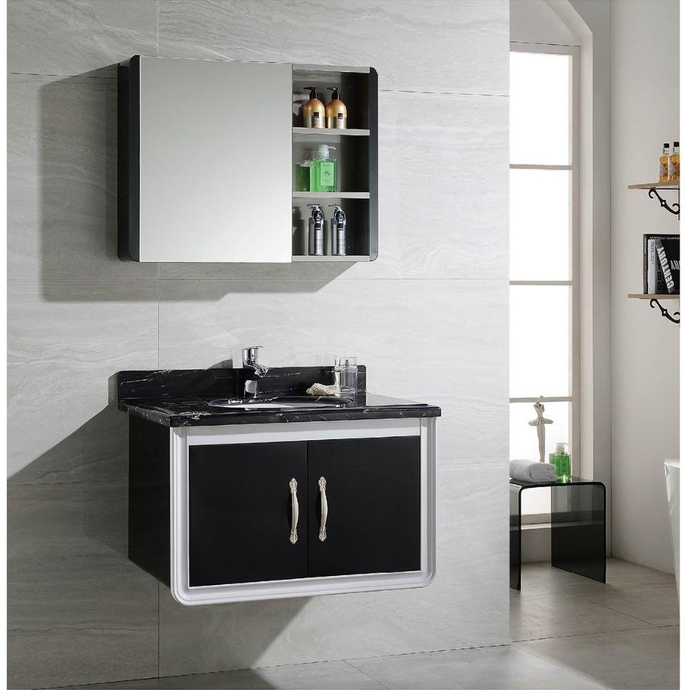 Stainless Steel Modern Waterproof Bathroom Washbasin Cabinet - Buy ...