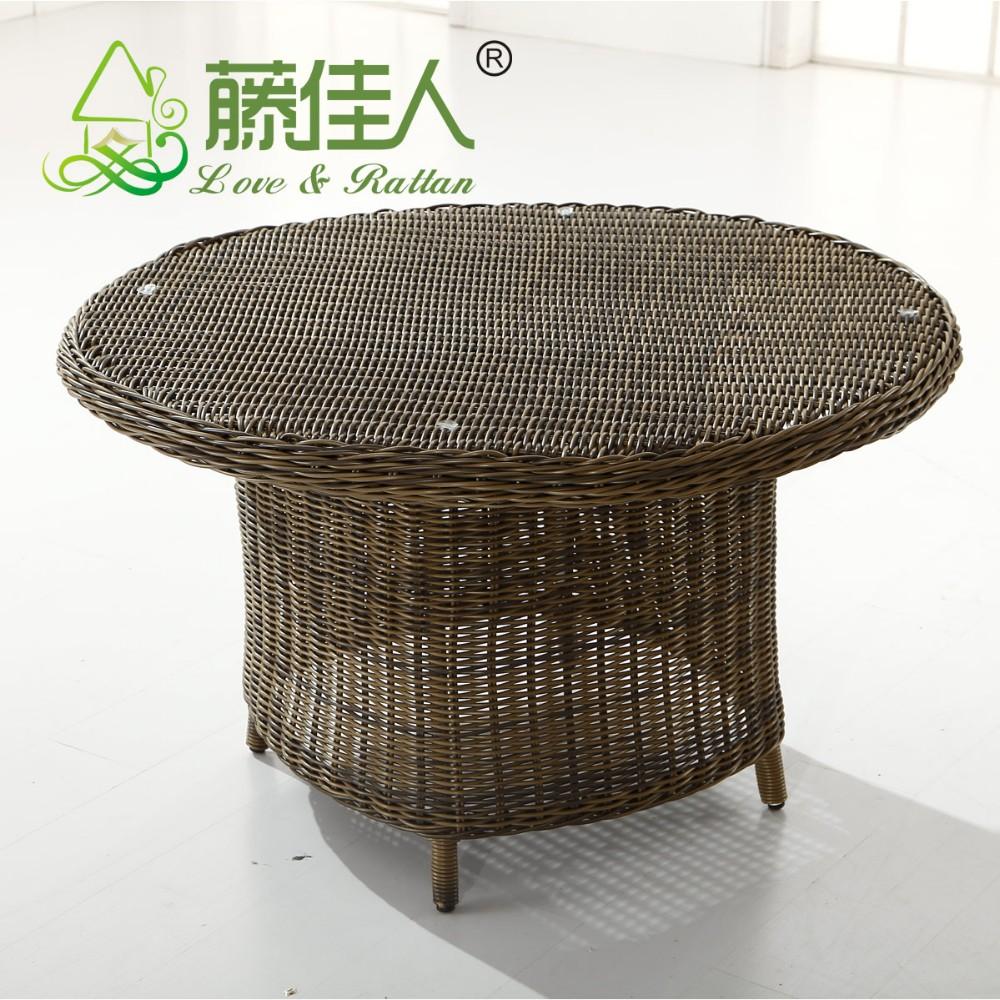 Jardín al aire libre muebles de ratán comedor conjunto-Conjuntos de ...