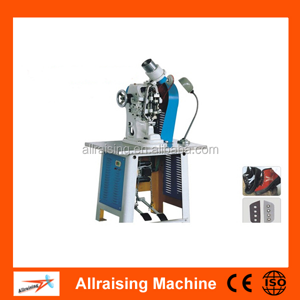 Profesional zapato automática eyeleting machine