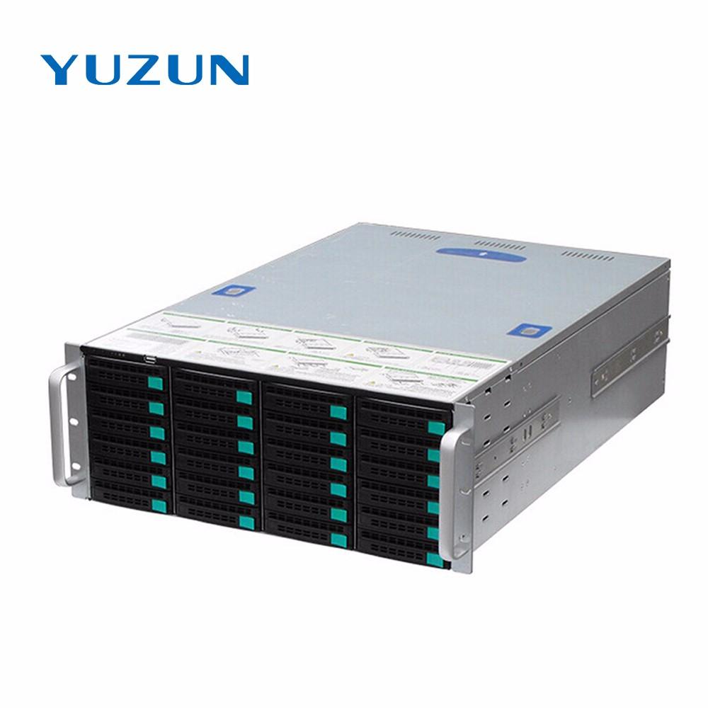 128CH NVR 24 hdd bays CCTV storage server, View storage server, YUZUN  Product Details from Shenzhen Yuzun Technology Development Co , Ltd  on