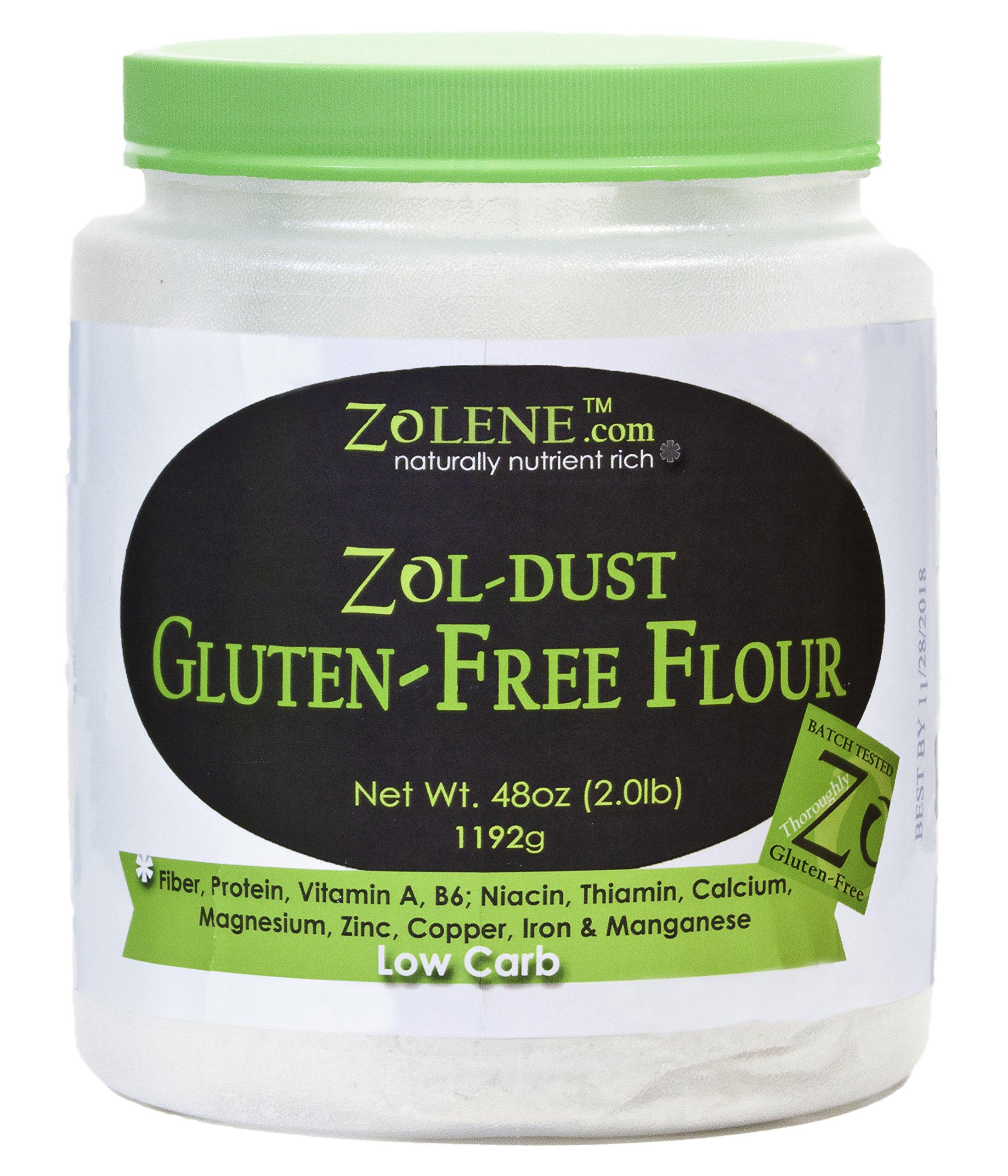 Zol-DUST Gluten-Free All Purpose Flour, gluten free flour blend, gluten free flour for baking, gluten free flour 1 to 1, gluten free flour mix, gluten free flour low carb, gluten free flour no rice
