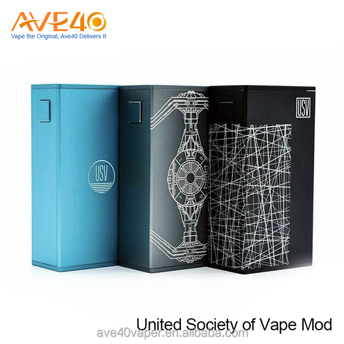 2017 trending hot products USV 75W Box Mod Powered by the VO chip
