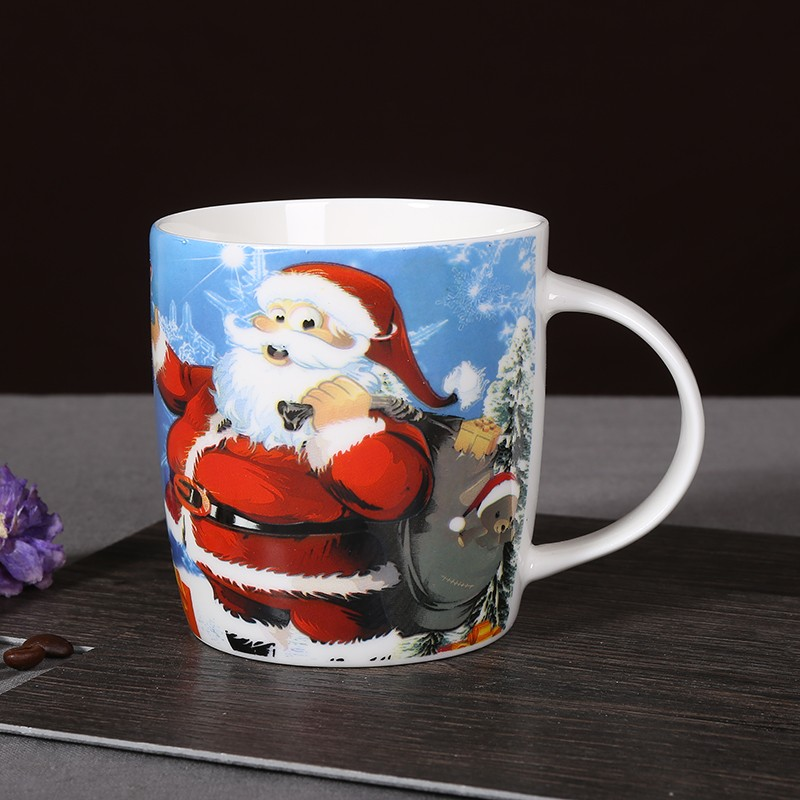 Wholesale Ceramic Christmas Gift Mug Santa For Kids - Buy Ceramic ...
