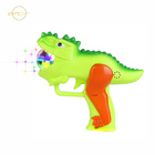 gel blaster electric blast gun outdoor light up dinosaur gun with disco spinner and sound of child toy gun