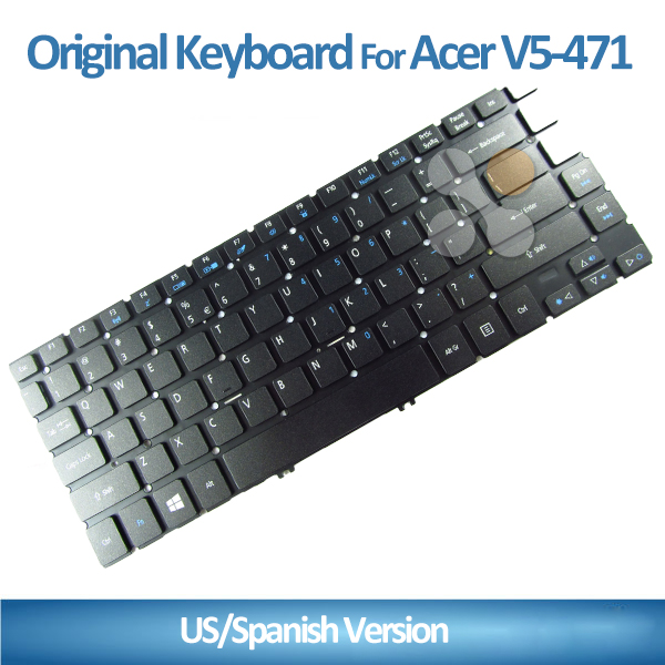 US layout Replacement Laptop Keyboard for Acer V5-471 471G 471PG V5-431 M5-581 Laptop Keyboard