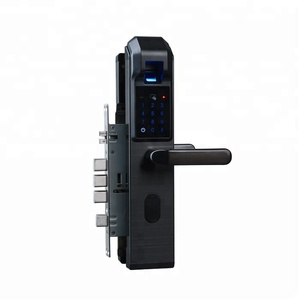 Factory Wholesale Biometric Fingerprint Touch Screen Digital Smart Door Lock