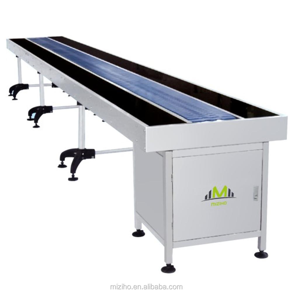 high quality china supplier pvc flat belt conveyor roller Rubber Belt Conveyor Line