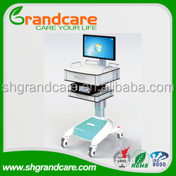 Mobile doctor workstation hospital computer trolley G-TD001